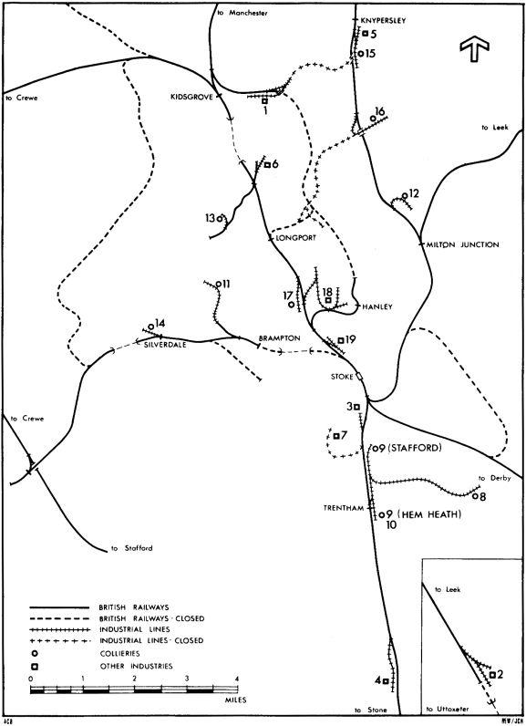 standard gauge in north staffordshire